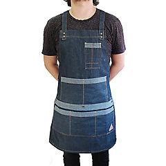Pechera de carpintería azul