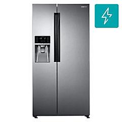 Refrigerador side by side 575 lts easy clean steel