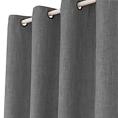 Cortina singapur gris 140x220 cm 2 paños