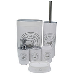 Set de 6 accesorios de baño bañera