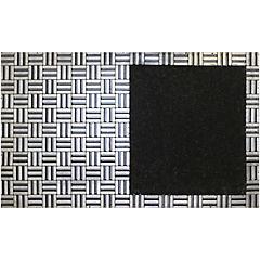 Limpiapiés bari 45x75 cm negro