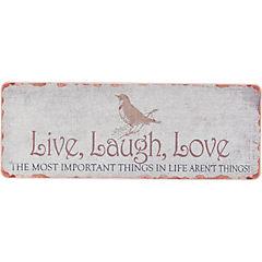 Limpiapiés natural mat live laugh love 45x120 cm