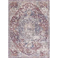 Alfombra karachi II 70x240 cm rojo
