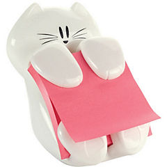 Dispensador de notas pop-up gato