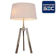 Lámpara de mesa Treo bronce E27 60W
