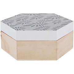 Caja madera 18,8x16,3x7 cm