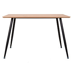 Mesa de comedor rectangular 120x80 cm