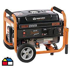 Generador eléctrico a gasolina 2000 W