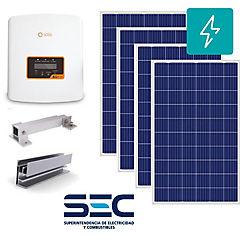 Kit paneles fotovoltaicos ongrid 1kw