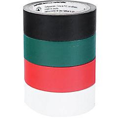 Pack 4 cintas colores temflex1500 10m