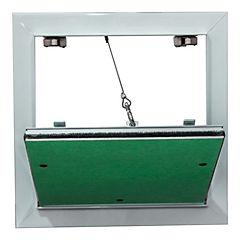 Tapa de inspección con banda anti-polvo 300x300 mm