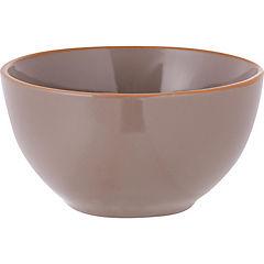 Bowl 14 cm taupe color