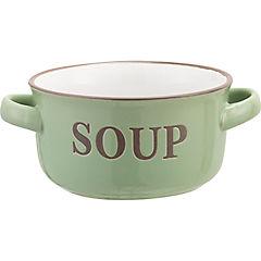 Bowl sopero con asa verde