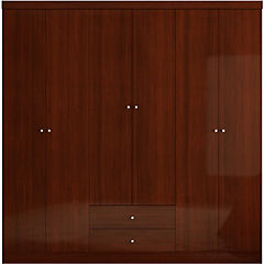 Clóset 6 puertas 179x47x180 cm