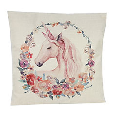 Cojín unicornio 40x40 cm