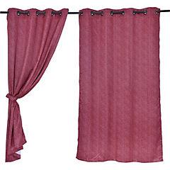 Set cortinas sunout 140x220 cm vino