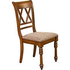 Set de 2 sillas 43x55x95 cm café