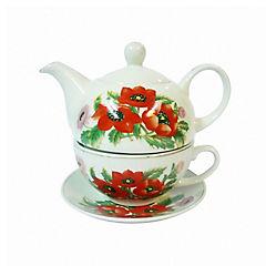 Set de té con taza y tetera