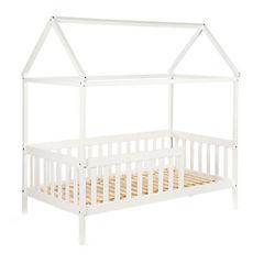 Cuna bebé heim transformable en cama blanco