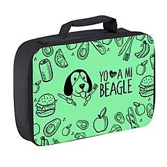 Lonchera beagle verde