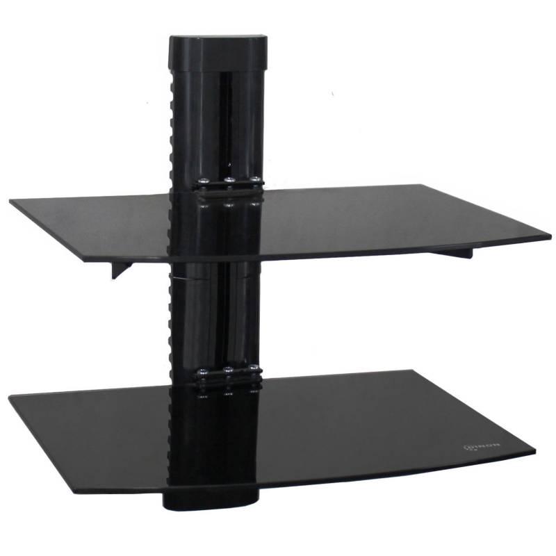 DINON - Soporte para dvd/d-box/vhs/proyector, doble vidrio