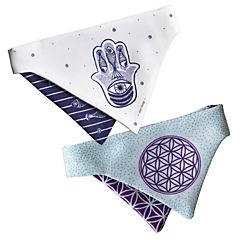 Pack bandana mascota símbolos sagrados d-m
