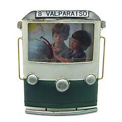Portafotos 10x15cm metal trolley