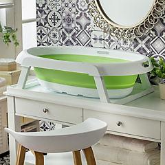 Bañera plegable verde