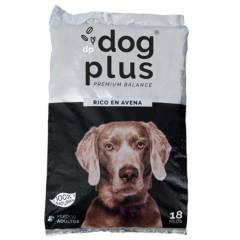 DOG PLUS - Alimento para perro adulto 18 kg rico en avena