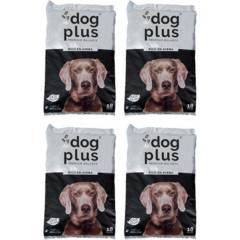 DOG PLUS - Pack 4 alimento para perro adulto 18 kg rico en avena