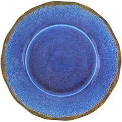 Plato entrada melamina azul oscuro