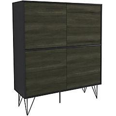 Organizador 4 cajones 121,5x100x37,8 cm