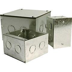 Caja metalica distribución 200x100x100 mm