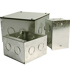 Caja metalica distribución 150x150x100 mm