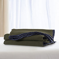 Frazada lana doble faz especial 1.5 verdemarengo