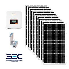 Kit panel solar fotovoltaico ongrid 3kw
