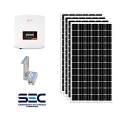 Kit panel solar fotovoltaico ongrid 1kw