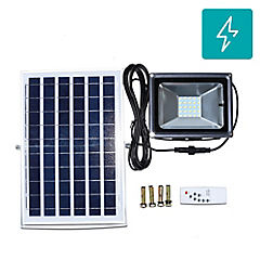 Foco solar led 10w