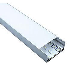 Perfil aluminio colgante para cinta led 2 metros