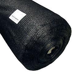 Malla raschel 4,20x100 m negro liviana
