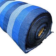 Malla raschel 2,12x50 m azul/blanco/negro
