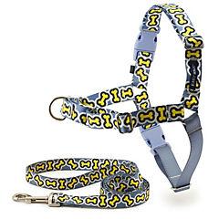 Arnés para perro talla S de nylon Huesitos Easy Walk chic