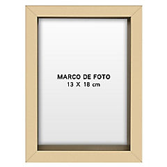 Marco foto caja gold 15x21 cm