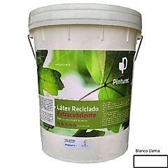 Látex reciclado extracubriente blanco llama 5g