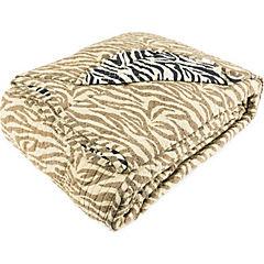 Cobertor quilt animal print 2 plazas