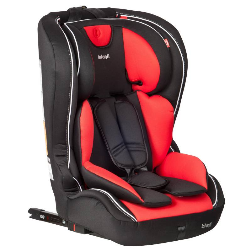 INFANTI - Silla de auto butaca roja
