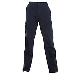 Pantalón cargo gabardina T/C azul marino 40