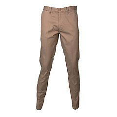 Pantalón frente plano spandex hombre beige 44