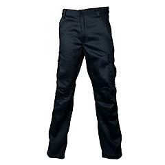 Pantalón cargo twill azul marino XL