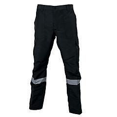 Pantalón cargo poplin reflect negro M